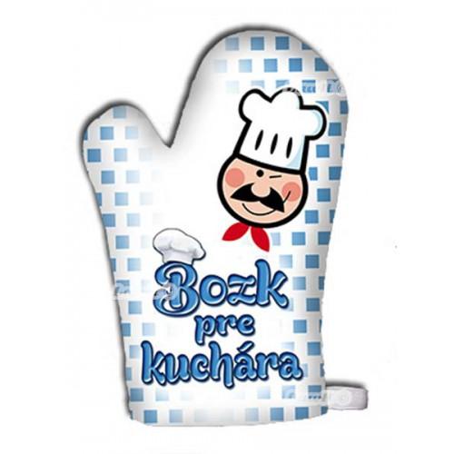 Kuchynská chňapka - Bozka pre kuchára
