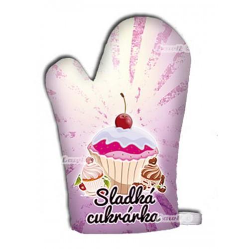Kuchynská chňapka - Sladká cukrárka