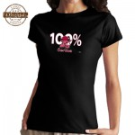 Vtipné tričko - 100 % čertica