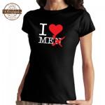 Vtipné tričko - I Love Men