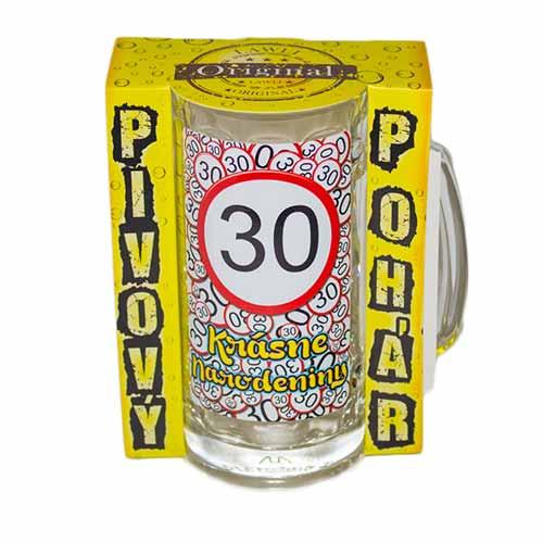 Vtipné krígle -  Krásne narodeniny 30 | Vtipné poháre na pivo