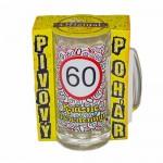 Vtipné krígle - Krásne narodeniny 60 | Vtipné poháre na pivo