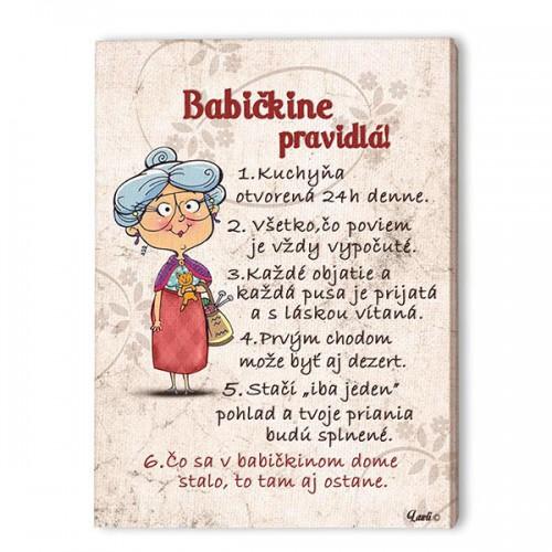 Obrázok - Babičine pravidlá