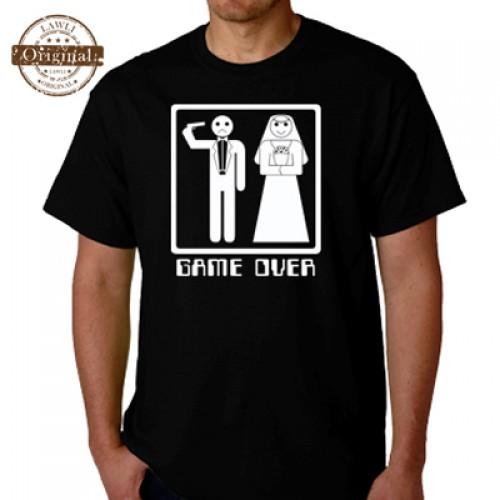 Vtipné tričko - Game Over