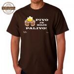Vtipné tričko - Pivo je moje palivo