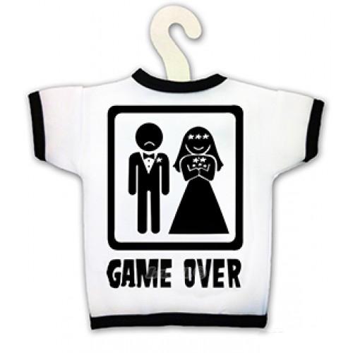 Tričko na fľašu - Game Over
