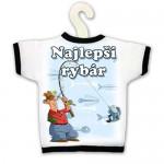 Tričko na fľašu - Najlepší rybár