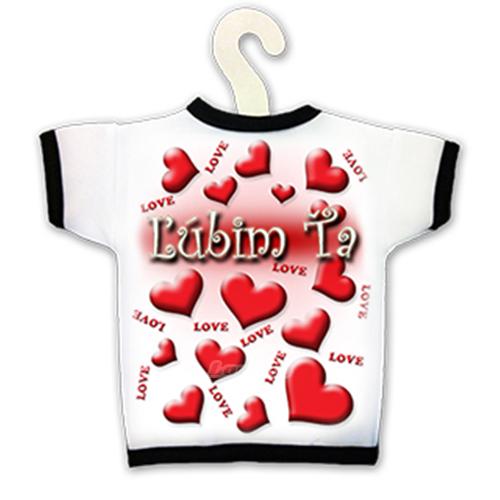 Tričko na fľašu - Ľúbim Ťa