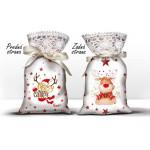 Vrecúško s levanduľou - Vianoce Rudolf